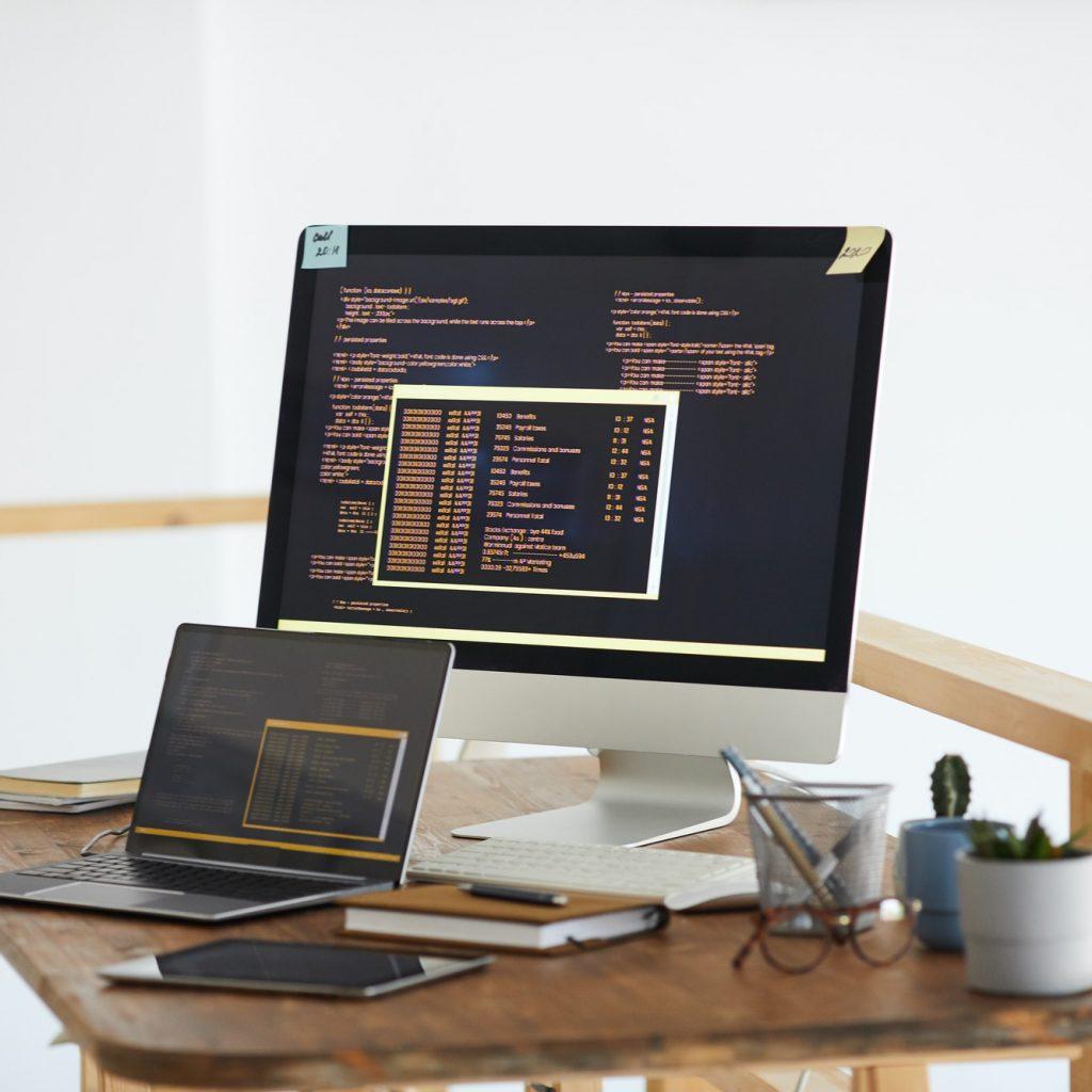 IT Programming Code Background